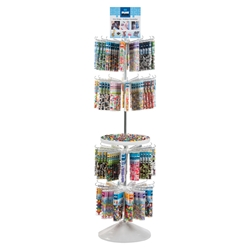 252 pc 4-Tier Floor Spinner Program - Tubes