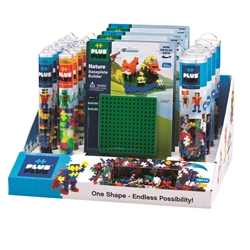 30 pc Counter Display Program Tube & Baseplate - Open Play
