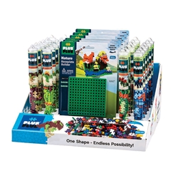 36 pc Tube & Baseplate Display Program - Dinosaurs
