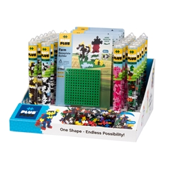 36 pc Tube & Baseplate Display Program - Farm