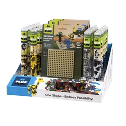 36 pc Tube & Baseplate Display Program - Savanna
