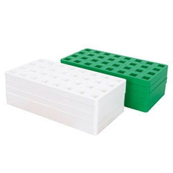 BIG Baseplate 10-Pack - Green & White