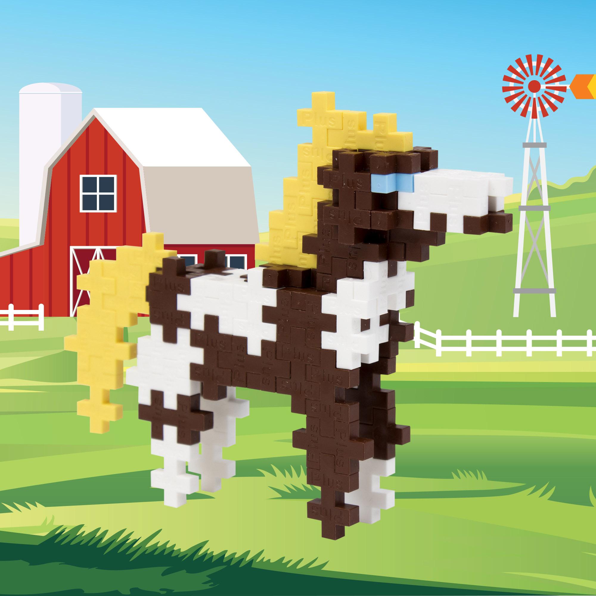 Plus-Plus - Mini Maker Tube - Horse #04149