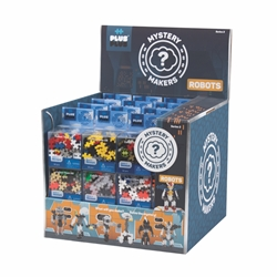 48 pc Mystery Makers Display Program - Series 2 - Robots