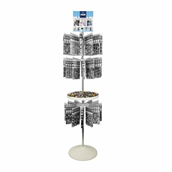 Tube Floor Display (only) - 3-Tier